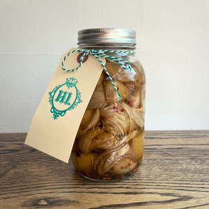 Pickled Quartered Onions (1L)