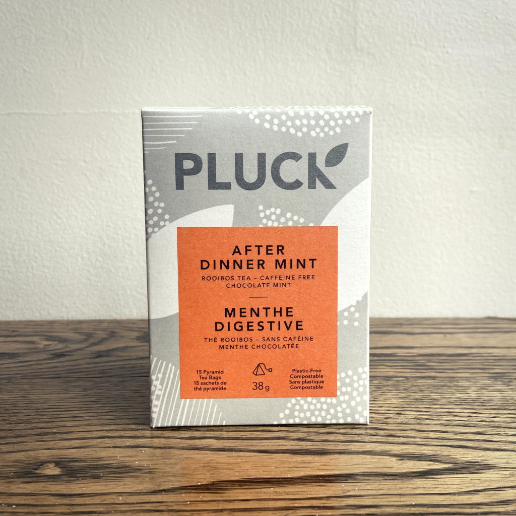 Pluck After Dinner Mint Bagged Tea (15 servings)