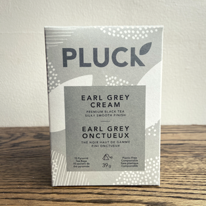 Pluck Earl Grey Cream Bagged Tea (15 servings)