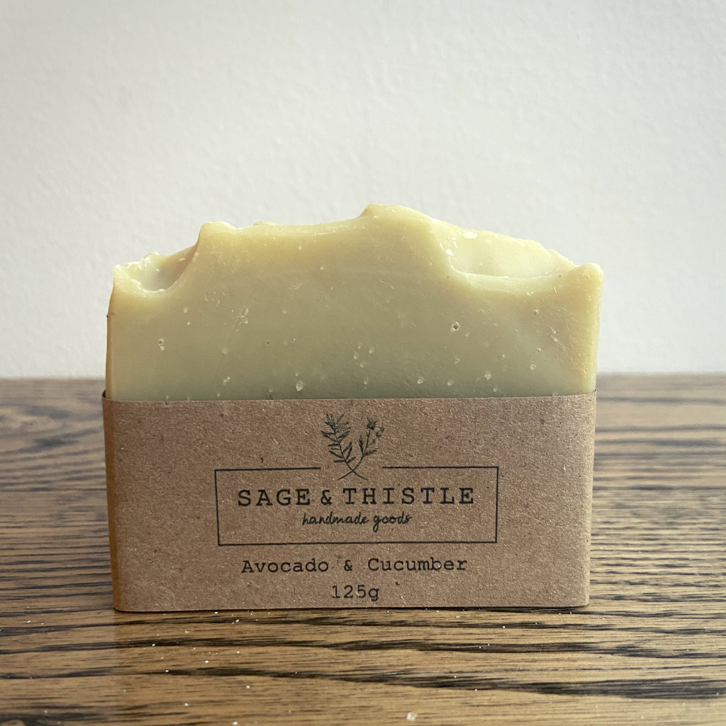 Sage & Thistle Avocado & Cucumber Soap