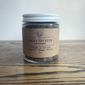 Sage & Thistle Coffee & Citrus Organic Sugar Scrub