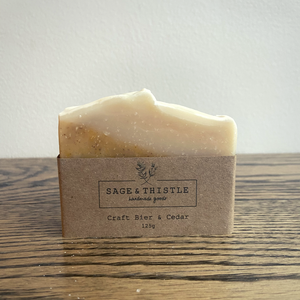 Sage & Thistle Craft Bier & Cedar Soap