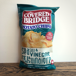 Covered Bridge Sea Salt & Vinegar 170g