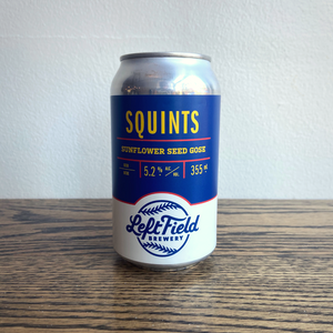 Left Field Squints Sunflower Seed Gose 355ml