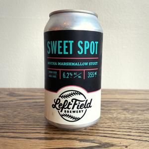 [4-Pack] Left Field Sweet Spot Mocha Marshmallow Stout 355ml