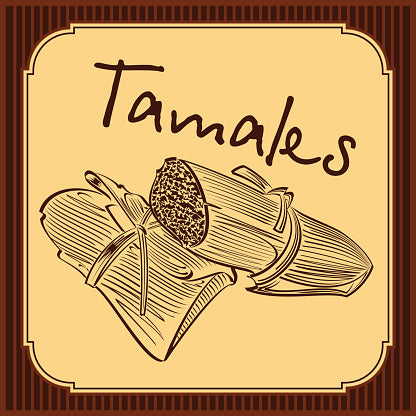 House Made Chile Pork Tamales (Frozen)