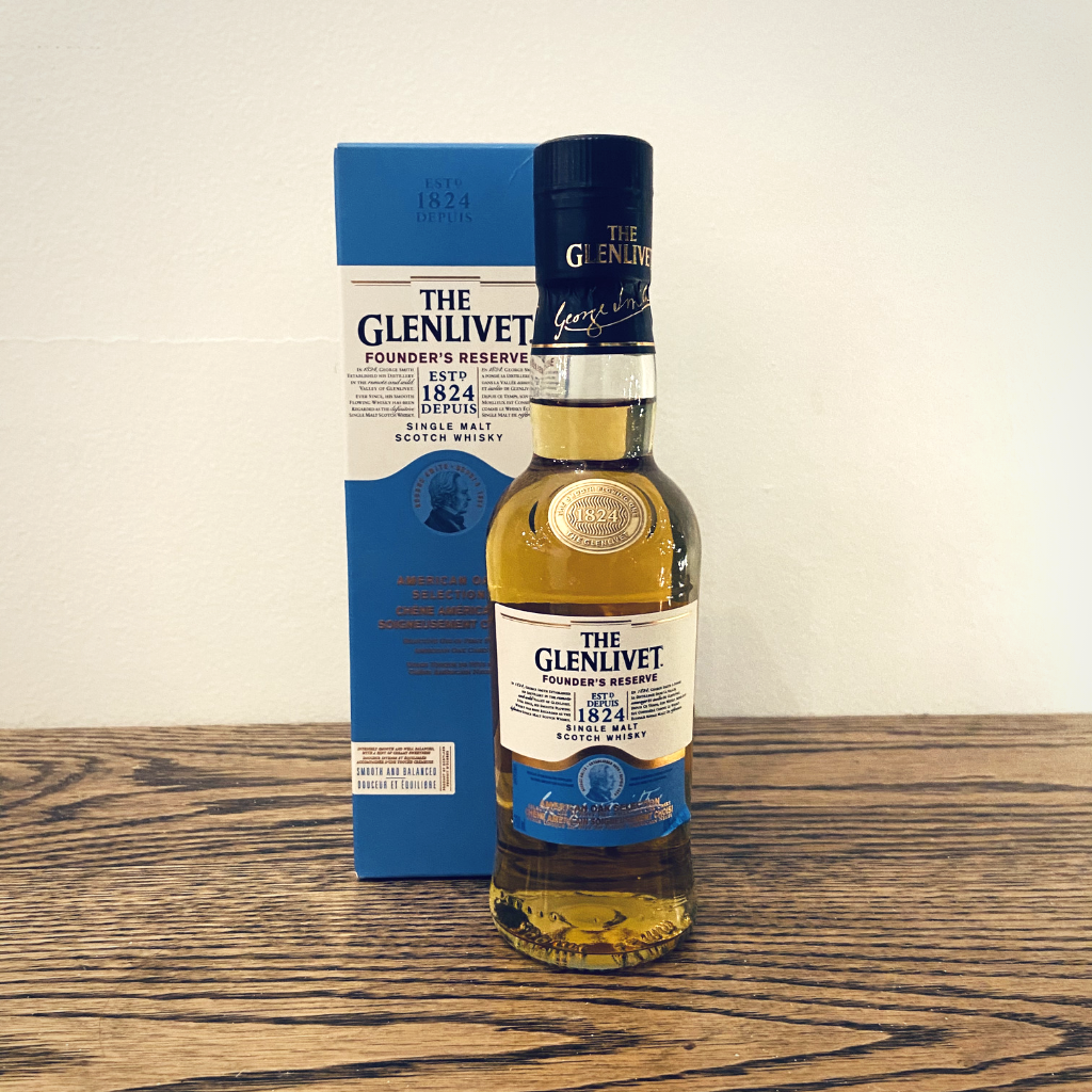 The Glenlivet Founder's Rerserve Scotch Whisky (200ml)