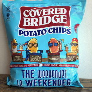 Covered Bridge The Weekender Chips 284g