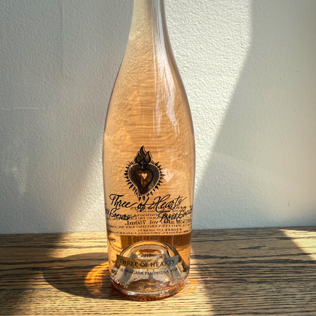 Image of Three of Hearts Rosé Niagara, ON in Henrietta Lane