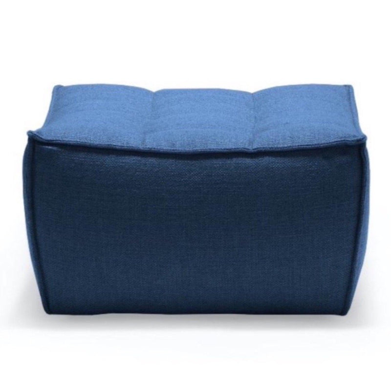 Blue Footsool Sofa N701 ottoman Ethnicraft
