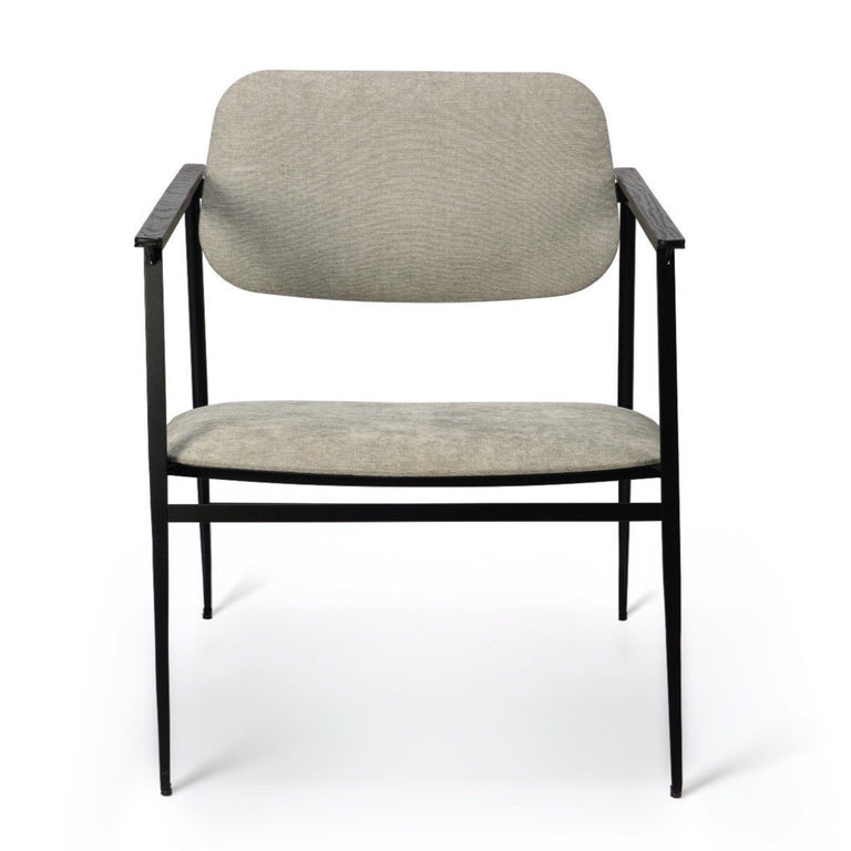 DC Lounge Chair Light Grey Armchair Ethnicraft