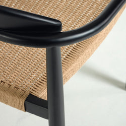 Glynis Dining Chair Black/Beige Chair Barcelona