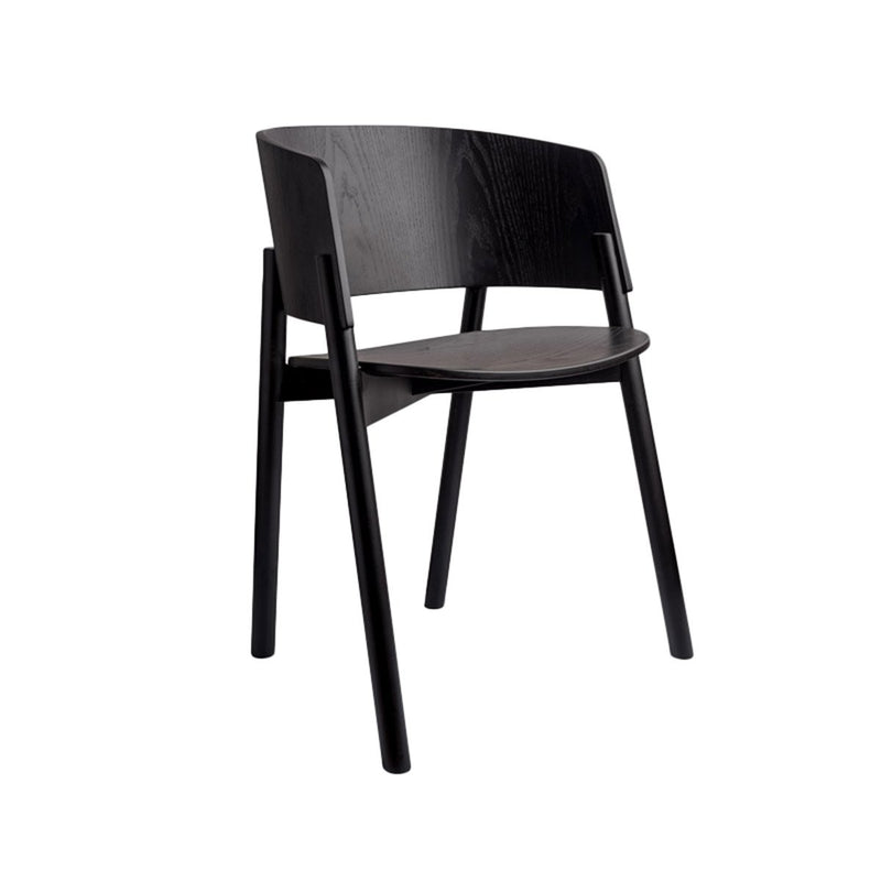 Halla Black Dining Chair Chair Ethnicraft