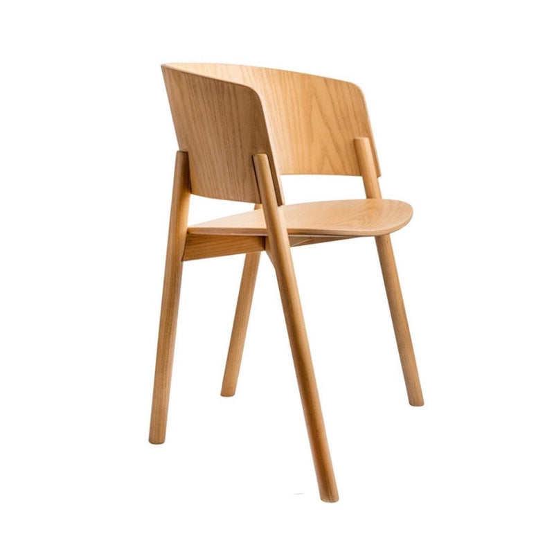 Halla Natural Dining Chair Chair Elysium