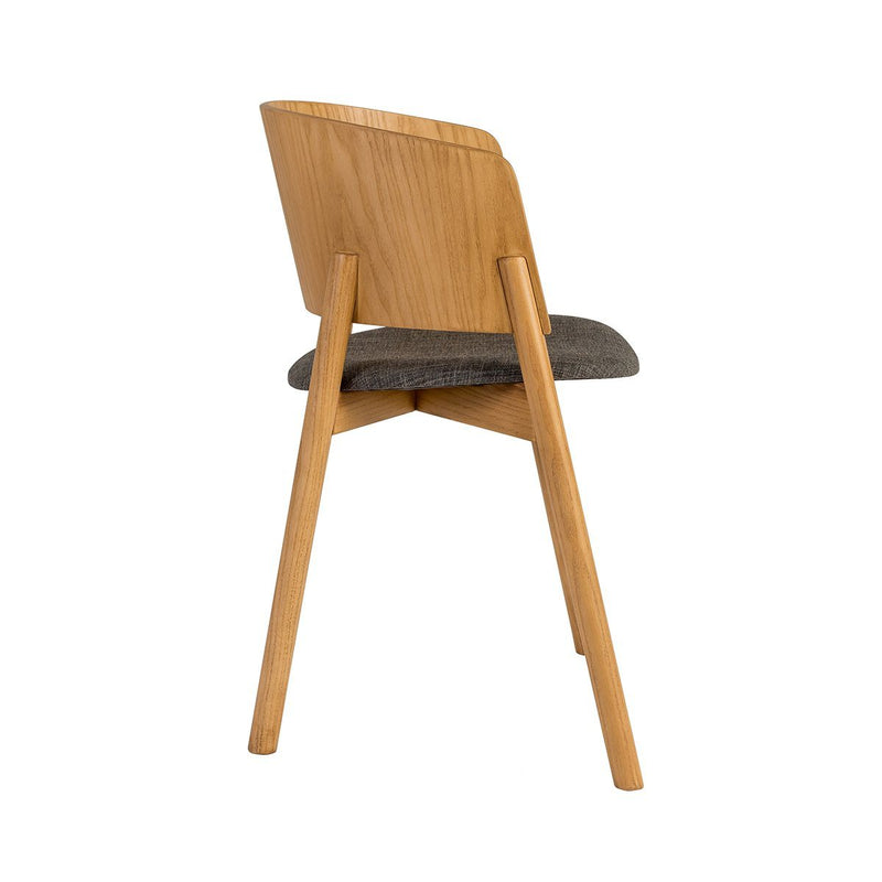 Halla Plus Natural Dining Chair Chair Elysium