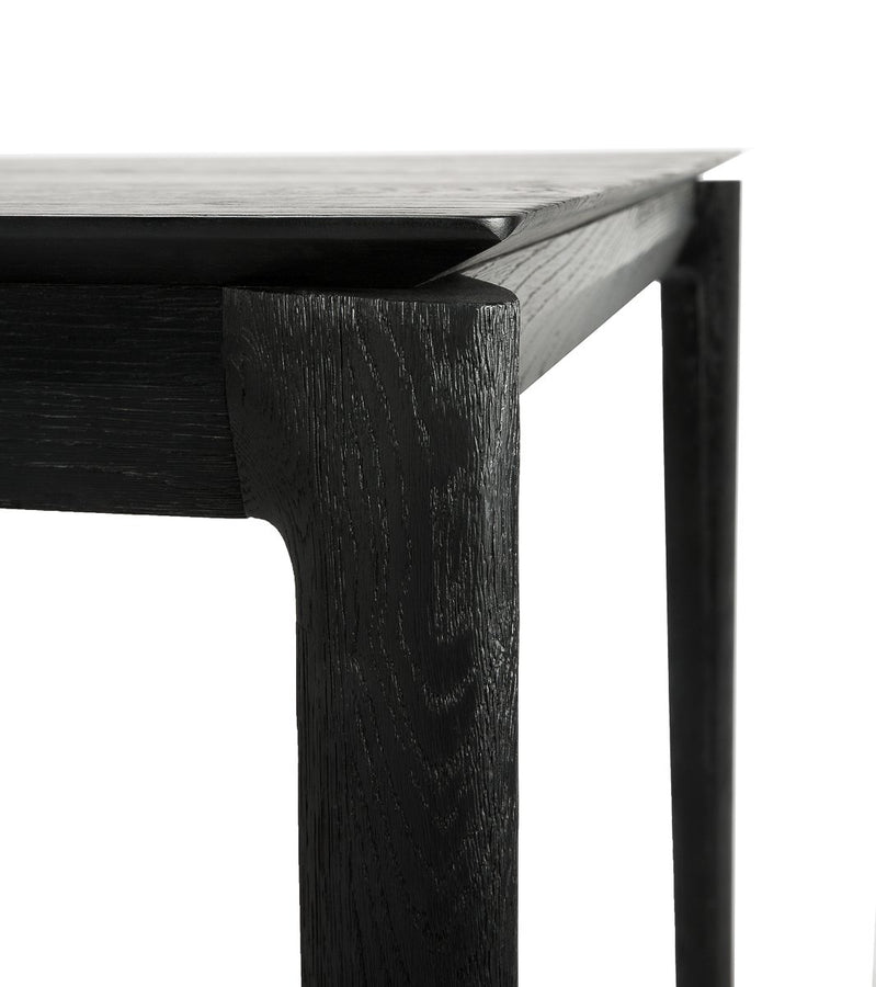 Oak Bok Black Desk Table Ethnicraft