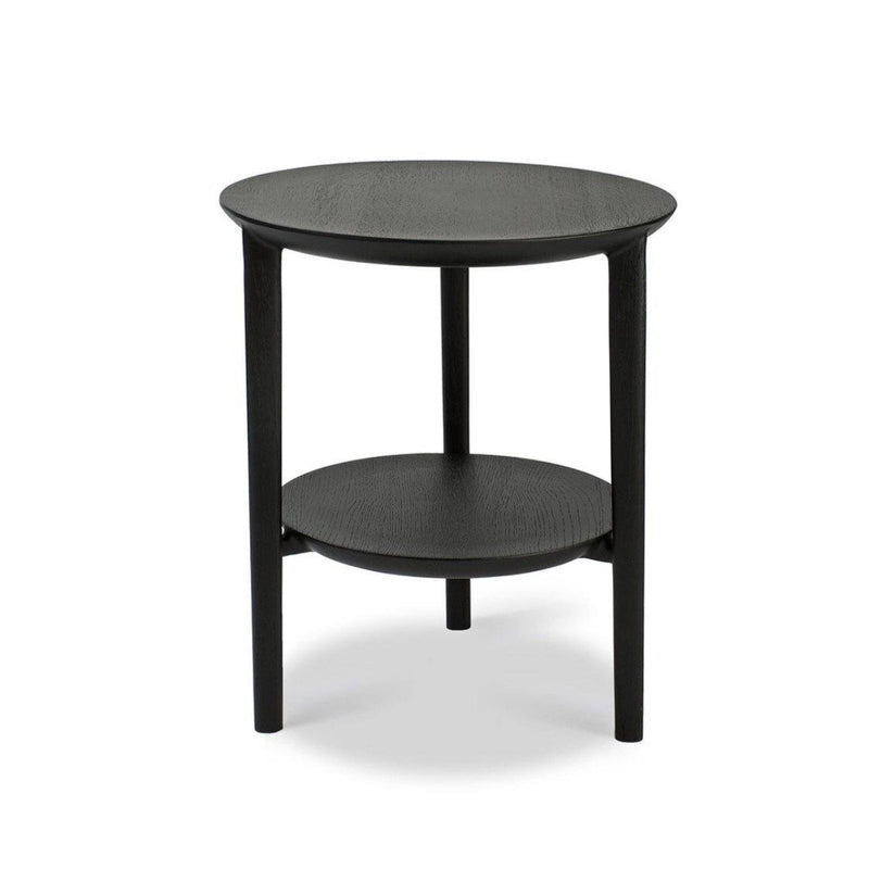 Oak Bok Black Side Table Side Table Ethnicraft