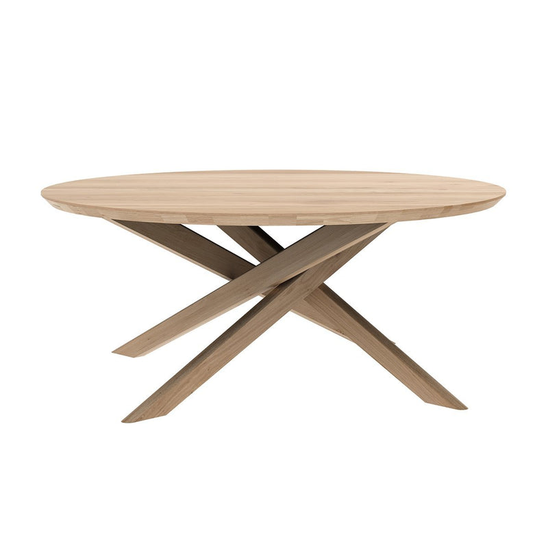 Oak Mikado Round Coffee Table Coffee Table Ethnicraft