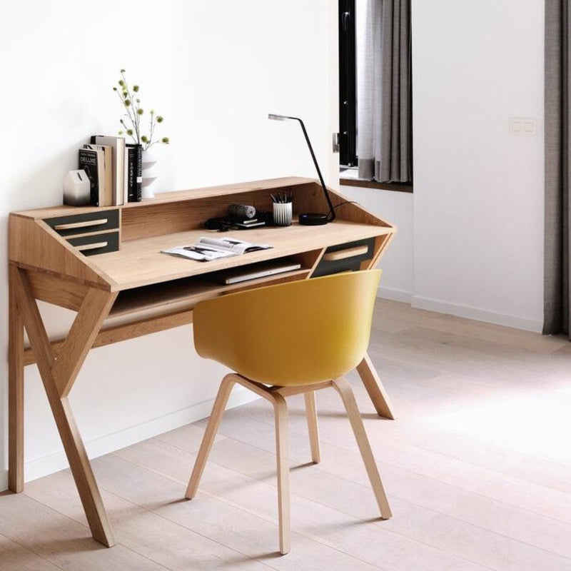 Oak Origami Desk Black Desk Ethnicraft