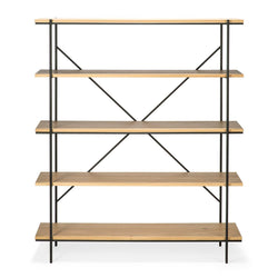 Oak Rise Rack Bookshelf Ethnicraft
