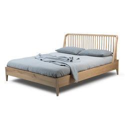 Oak Spindle Bed Bed Ethnicraft