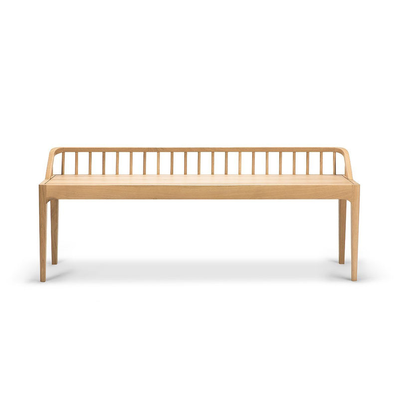 Oak Spindle Bench Bench Ethnicraft