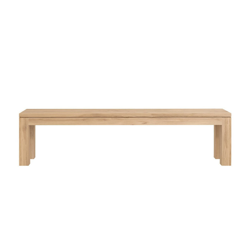 Oak Straight Bench 1600mm Bench Ethnicraft