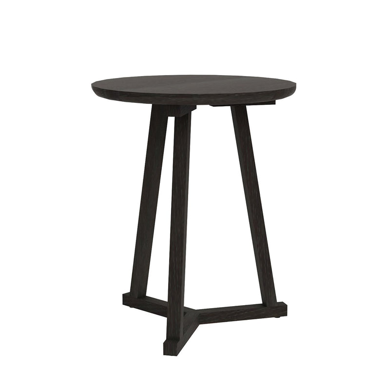 Oak Tripod Black Side Table Side Table Ethnicraft