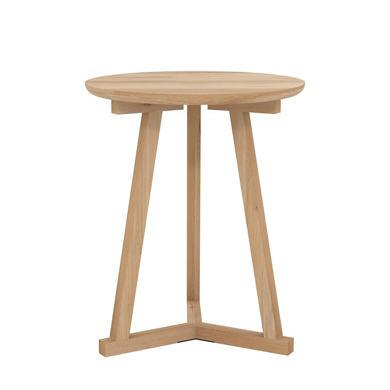 Oak Tripod Side Table Side Table Ethnicraft
