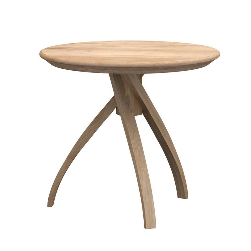 Oak Twist Side Table Side Table Ethnicraft Small