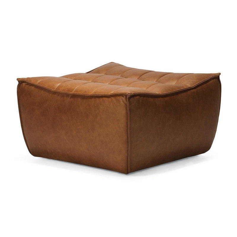 Old Saddle Leather Footstool Sofa N701 Sofa Ethnicraft