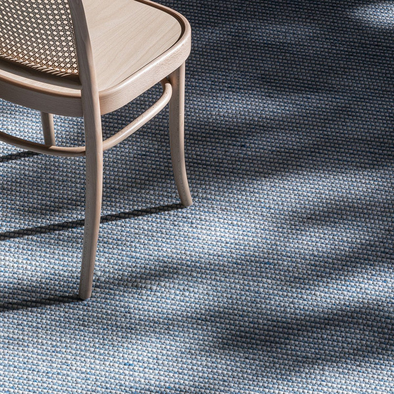 Pinnacle Sea Blue Rug Rug Bayliss