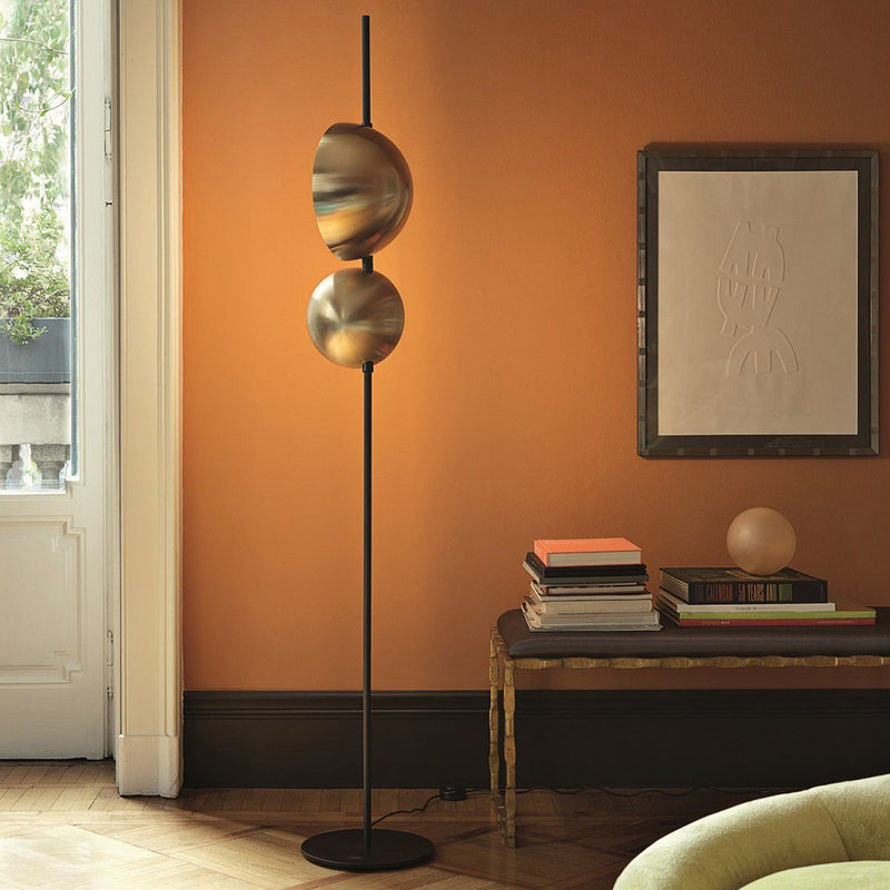 Superluna Floor Lamp Lamp Oluce