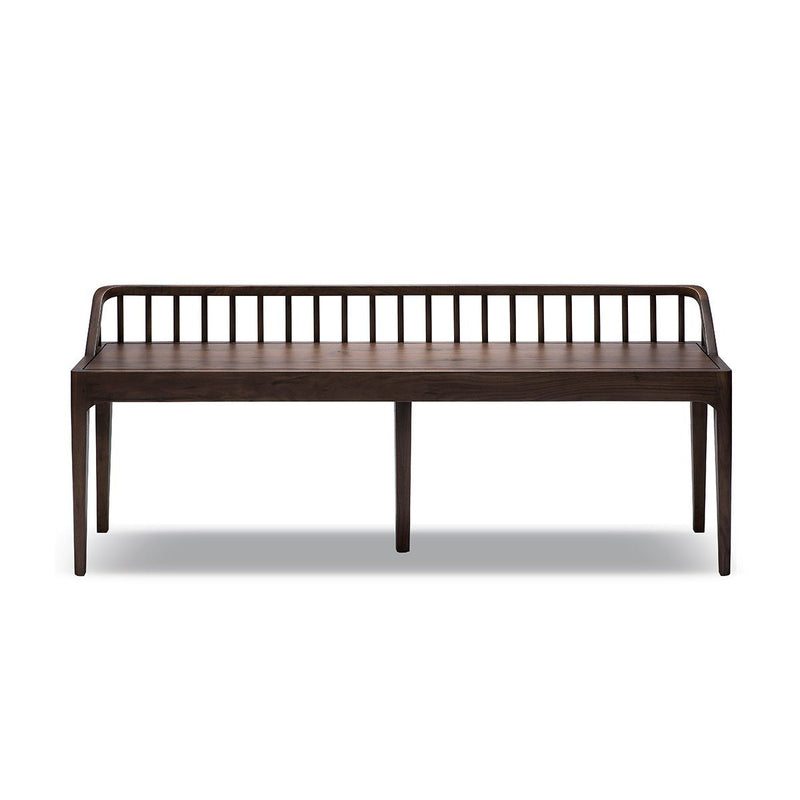 Walnut Spindle Bench Bench Ethnicraft