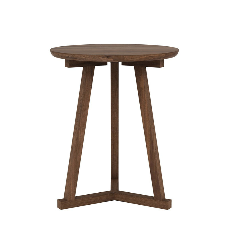 Walnut Tripod Side Table Side Table Ethnicraft