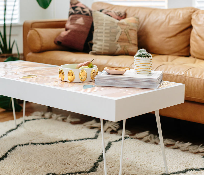 Eliana x Stampworthy Goods: Tiled Coffee Table