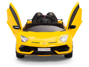 Toddler Lamborghini SVJ Remote Control Ride On Aventador
