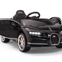 Toddler Ride On Bugatti Sports Car in Black