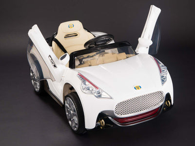 Exotic Maserati Style 12v Remote Control Ride on Coupe W/ Vertical Doors