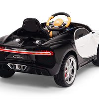 Toddler Bugatti Remote Control Ride On Sports Car with Rubber Tires
