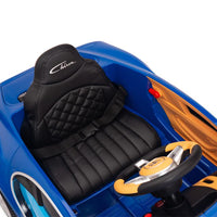 Bugatti Remote Control Ride On with Leather Seat