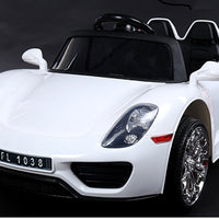 Porsche 918 Style Spyder 12V Remote Control Toddler Ride On Car W/Doors