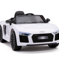 Toddler Ride On Audi R8 in White