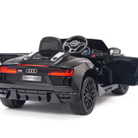 Remote Control Toddler Ride On Audi R8 in Black