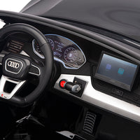 Audi Q5 Ride On SUV dashboard