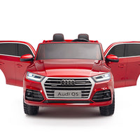 Audi Q5 Remote Control Ride On SUV for toddlers with two seats