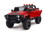 Hummer Monster Truck for Toddlers with Parental Remote Control
