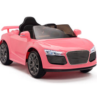 Pink Remote Control Ride On Car for Toddlers Ages 2 to 4