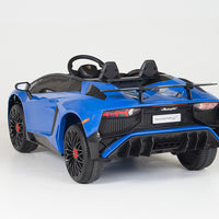 remote control ride on Lamborghini Aventador SV with butterfly doors