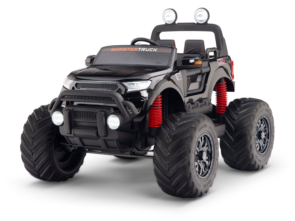 Monster Truck 4wd Lifted Toddler Remote Control Ride On Car Tots Remote Control Ride On Cars Trucks Suvs And Jeeps